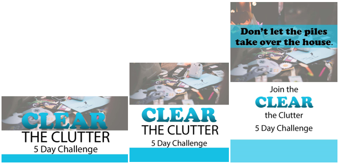 clear the clutter 5 day challenge plr
