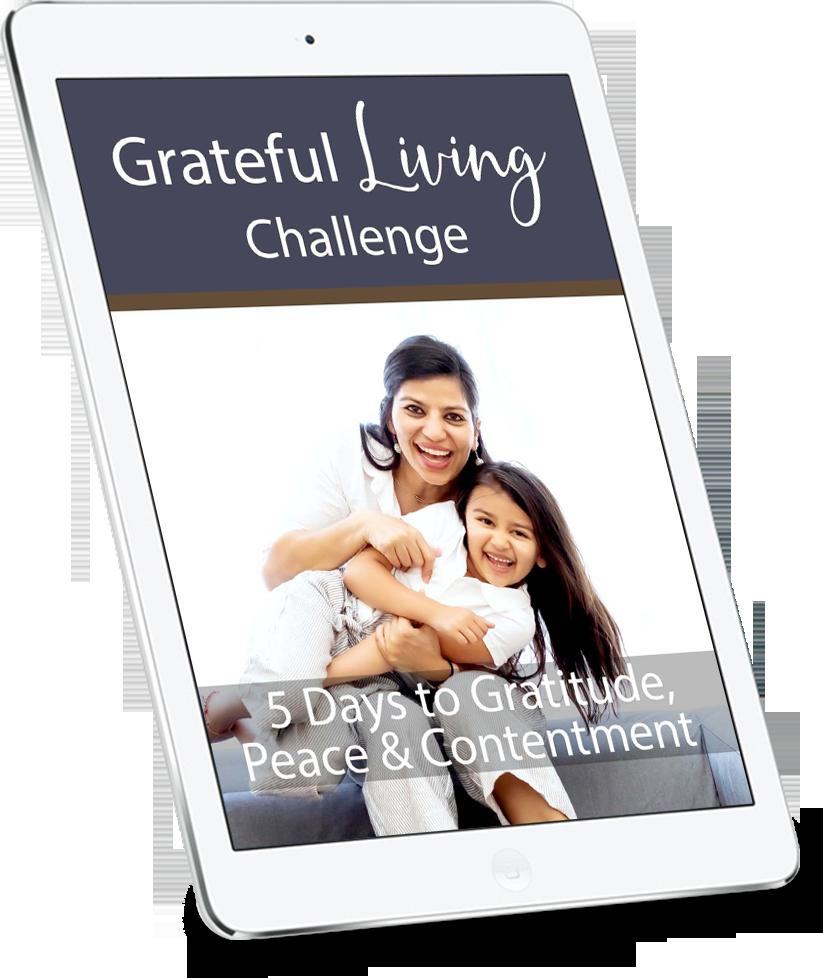 gratitude 5 day challenge plr